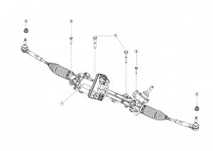 Steering Gear and Lower Column